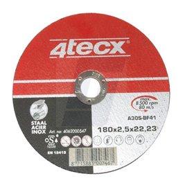 Disques à tronçonner acier/inox 4Tecx 2,5mm