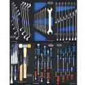Composition 13 modules 252 outils pour servante d'atelier